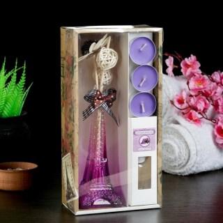 Ароманабор «Эйфелева башня» 6 предметов (фиалка) купить в Минске +375447651009