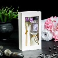 Ароманабор «Ваза с цветком» лаванда купить в Минске +375447651009