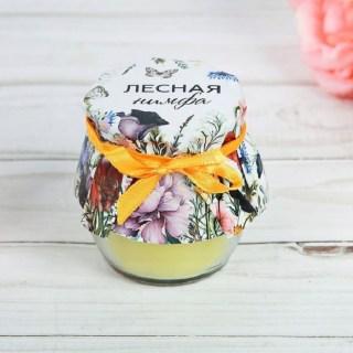 Аромасвеча «Лесная нимфа» лимон купить в Минске +375447651009