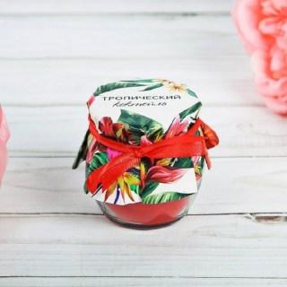 Аромасвеча «Тропический коктейль» купить в Минске +375447651009