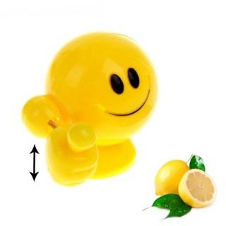 Ароматизатор для авто «Позитивный смайлик» лимон купить в Минске +375447651009