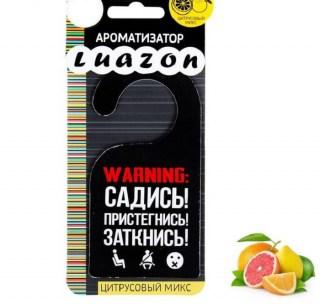 Ароматизатор для авто «Три правила пассажира» цитрусовый микс купить в Минске +375447651009