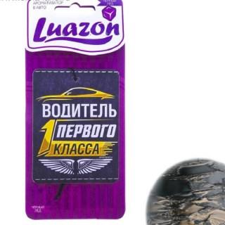 Ароматизатор для фавто «Водитель первого класса» черный лед купить в Минске +375447651009