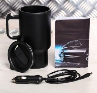 Автонабор «First class»: термокружка от прикуривателя, обложка для документов купить в Минске +375447651009