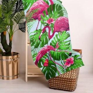 Банное полотенце «Фламинго» 60х146 см купить в Минске +375447651009