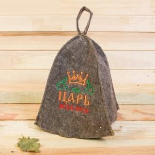Банный набор «Царь» шапка,2 аромамасла купить в Минске +375447651009