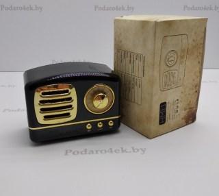 Беспроводная музыкальная колонка «Ретро радио» черная купить в Минске +375447651009