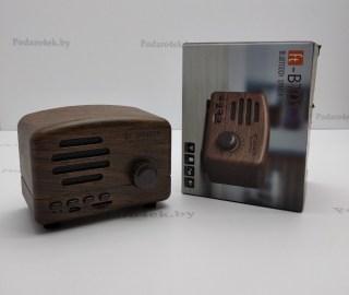 Беспроводная музыкальная колонка «Ретро радио» коричневая купить в Минске +375447651009