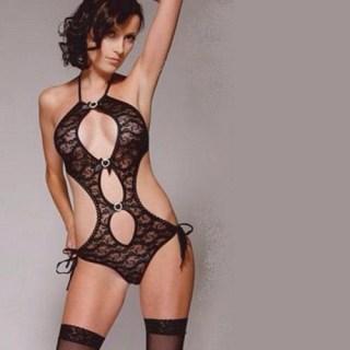 Боди кружевное «Monica» S черное купить в Минске +375447651009