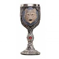 Бокал на ножке 3D «Волк» 200 мл Минск +375447651009