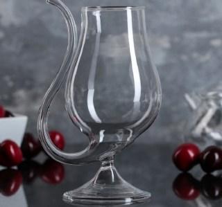 Бокал винный с трубочкой «Сомелье» купить в Минске +375447651009