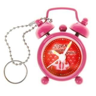 Будильник-брелок «Время тратить деньги» d=4 см. купить в Минске +375447651009