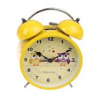 Будильник «Совушки» желтый d=11,5 см купить в Минске +375447651009