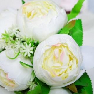 Букет- дублер для невесты «Нежные пионы» купить в Минске +375447651009