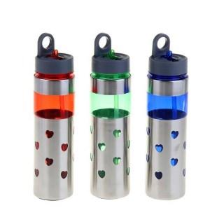 Бутылка для воды «Сердечки» Минск +375447651009