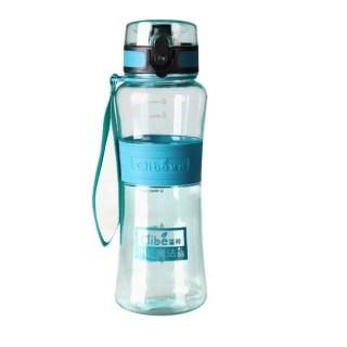 Стильная фитнес бутылочка для воды Clibe бирюзовая купить Минск