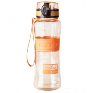 Бутылка для воды «Clibe» оранжевая 450 мл. купить Минск +375447651009