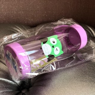 Бутылка для воды Clibe «Сова» фиолетовая купить Минск +375447651009