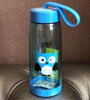 Бутылка для воды Clibe «Сова» голубая купить Минск +375447651009