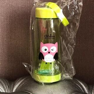 Бутылка для воды Clibe «Сова» зеленая купить Минск +375447651009