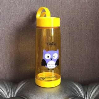 Бутылка для воды Clibe «Сова» желтая купить Минск +375447651009