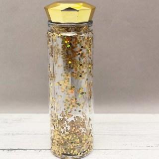 Бутылка для воды «Diamond» золотистая 450 мл. купить в Минске +375447651009