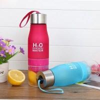 "Бутылка для воды ""H2O Drink More Water"" розовая купить Минск"