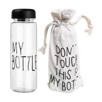 Бутылка для воды My Bottle (Май Боттл) черная с чехлом купить Минск
