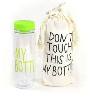 Бутылка для воды My Bottle (Май Боттл) салатовая с чехлом купить Минск +375447651009