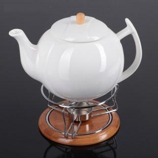 Чайник заварочный «Ceram-Bamboo» с подставкой и подогревом Минск +375447651009