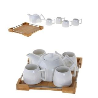 Чайный набор на подносе «Ceram-Bamboo» на 4 персоны купить в Минске +375447651009