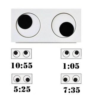 Часы-будильник «Глаза» купить
