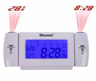 Часы-будильник с двумя проекциями купить Минск