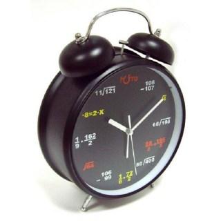 Часы Формулы на циферблате черные d=11 cм купить в Минске +375447651009