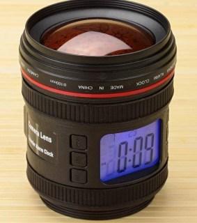 Часы «Фотообъектив» с проектором звездного неба купить