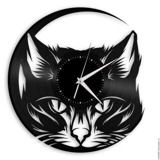 Часы из виниловой пластинки «КОТЭ» Минск +375447651009