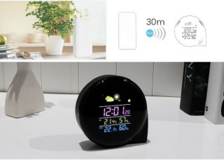 Часы-метеостанция с будильником купить Минск