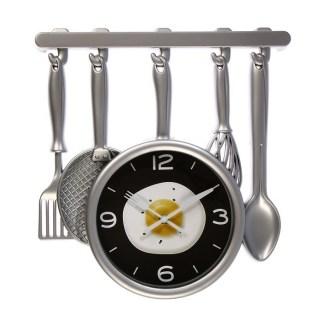Часы настенные «Яичница» купить в Минске +375447651009