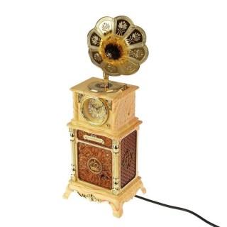 Часы- светильник «Патефон» купить в Минске +375447651009