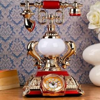 Часы- светильник «Ретро телефон» с будильником купить в Минске +375447651009