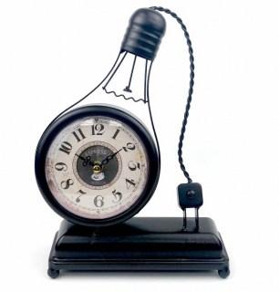 Часы в стиле LOFT «Лампочка» купить в Минске +375447651009