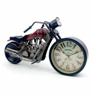 Часы в стиле LOFT «Мотоцикл» купить в Минске +375447651009