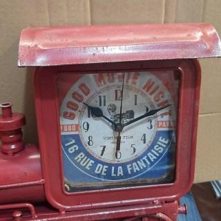 Часы в стиле LOFT «Паровоз» черные купить в Минске +375447651009