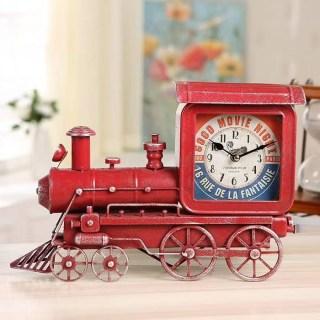 Часы в стиле LOFT «Паровоз» купить в Минске +375447651009