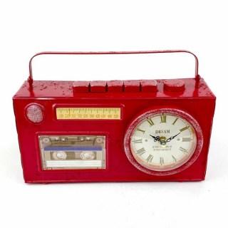 Часы в стиле LOFT «Радиоприёмник» купить в Минске +375447651009