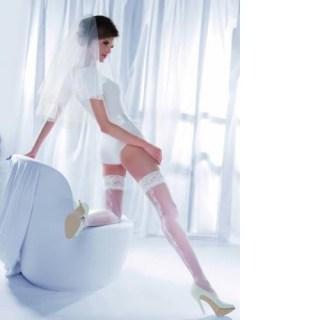 Чулки с кружевами «Princessa» р-р 3-4 белые купить в Минске +375447651009