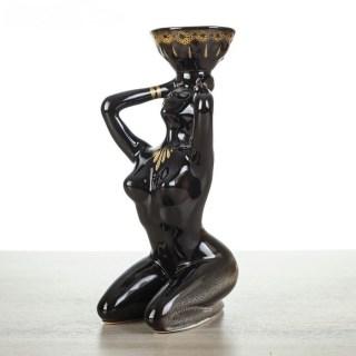 Декоративный подсвечник «Девушка с чашей» купить в Минске +375447651009