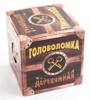 Деревянная головоломка 'Крестовица' №80 Минск