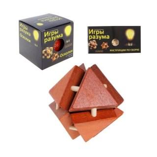Деревянная головоломка «Осколки» купить в Минске +375447651009