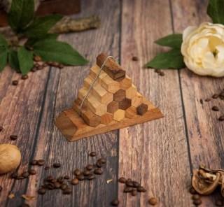 Деревянная головоломка «Соты» купить в Минске +375447651009